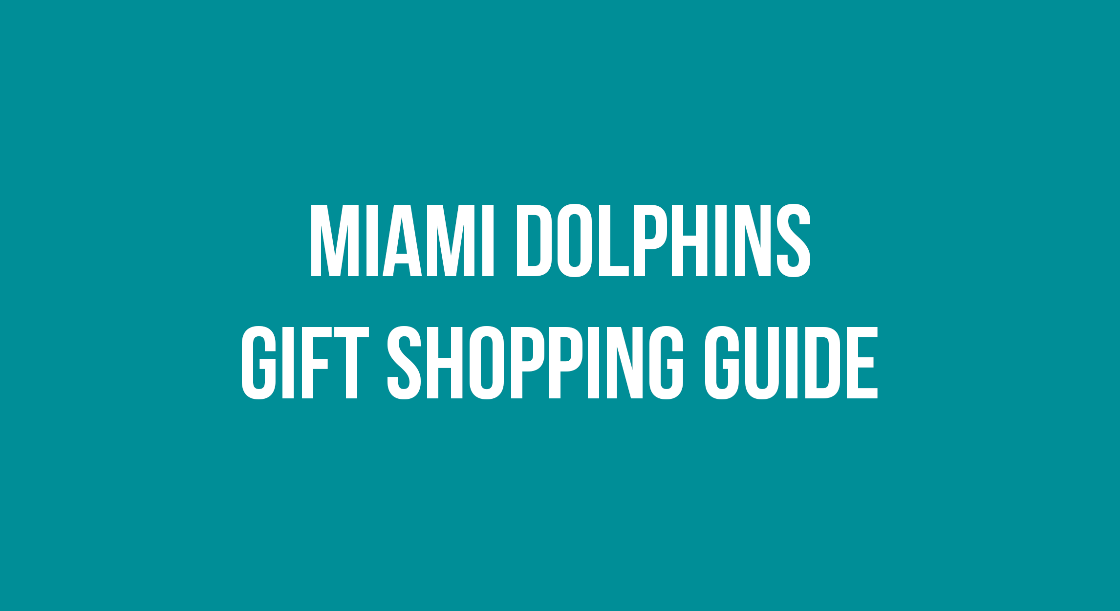 miami dolphins gifts
